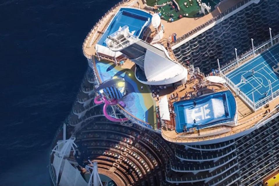 Royal Caribbean ǚ�家加勒比 Symphony Of The Seas Ƶ�洋交响乐号 Jr
